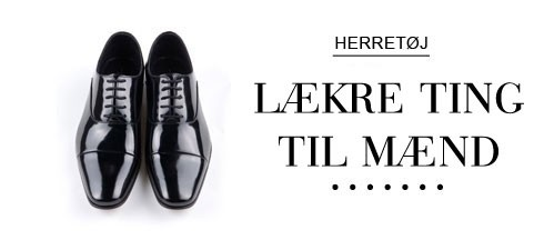 Herretøj, Herresko, herrejakker, herreskjorter - ShoppinStreet.dk - Shopping Street
