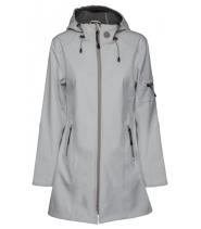 3/4 Softshell regnfrakke fra Ilse Jacobsen - Rain0