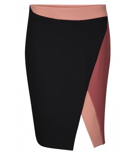 Asymmetrisk nederdel fra Ilse Jacobsen - Eden03