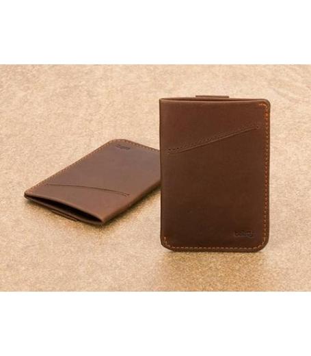 Bellroy kortholder - brun
