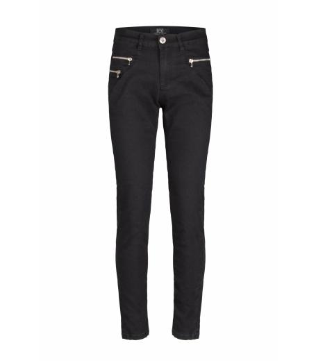 Besse Jeans med lynlås