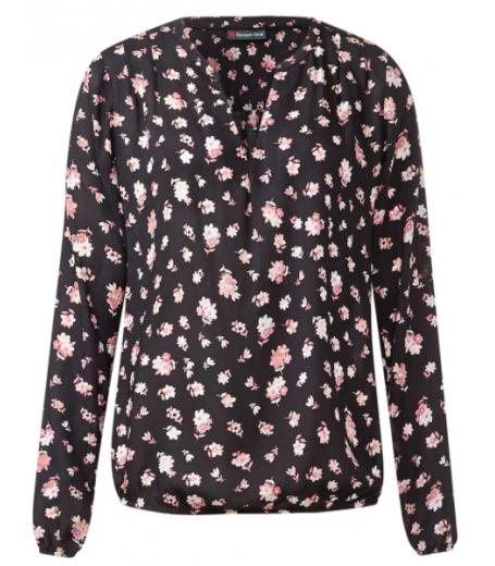 Betina bluse med blomsterprint fra Street One