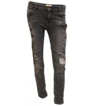 Biker jeans fra Drys - 13967