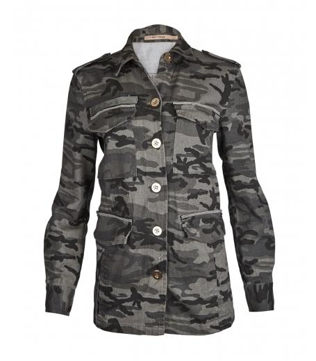 Bitte camouflage jakke fra Rue de Femme - 6518