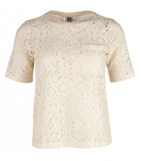 Blonde t-shirt fra Saint Tropez - N1345