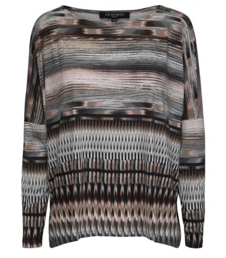 Bluse med print fra Ilse Jacobsen - Nice49CO