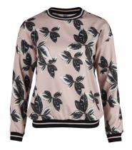Bluse med print fra Saint Tropez - N1400