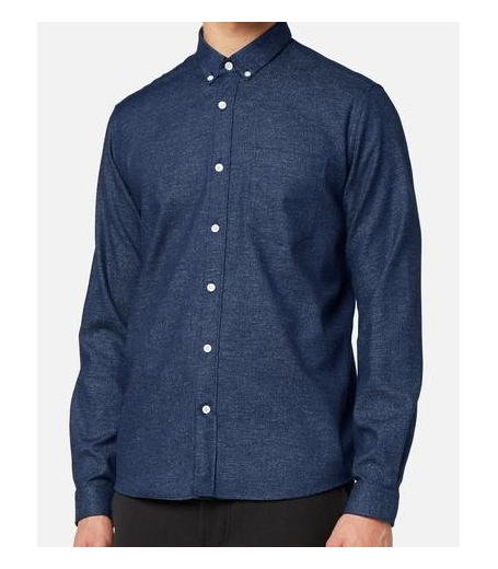 BUTTON-DOWN SHIRT - INDIGO DENIM