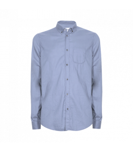 CAMICIA BOTTON DOWN - LIGHTBLUE