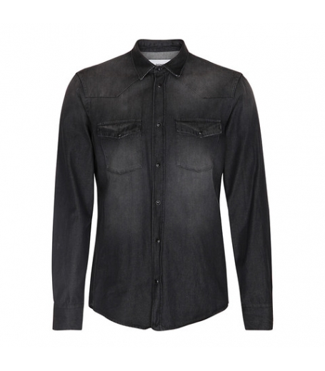 Dondup CAMICIA NEELY - DARK DENIM