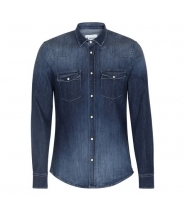 Dondup CAMICIA NEELY - WASHED DENIM