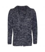 Trussardi Jeans CARDIGAN blå/grå