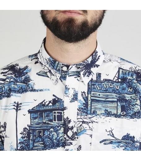Carhartt homerun print - Skjorte