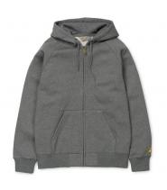 Carhartt hættetrøje - mørkegrå