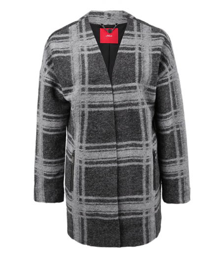 CHECKED JACKET - S.OLIVER