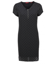Chiffon Dress with zip - S.Oliver