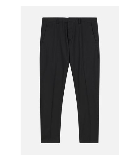 CHINO TROUSERS - BLACK