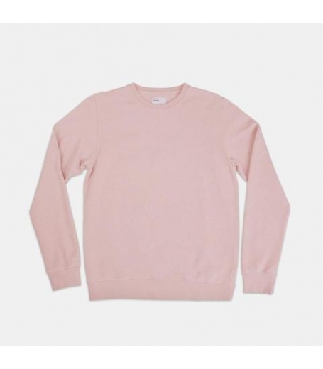 CLASSIC ORGANIC CREWNECK - FADED PINK