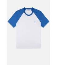 Copy of AMI DE COEUR T-SHIRT - WHITE/BLUE