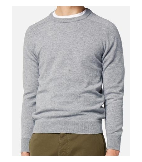 CREWNECK SWEATER GREY