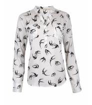 Doodle skjortebluse fra Rue de Femme