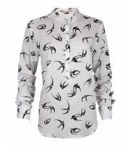 Dot skjortebluse fra Rue de Femme