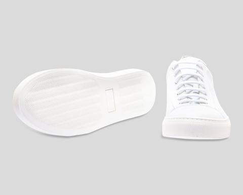Edgar Sneakers The Last Conspiracy optical white