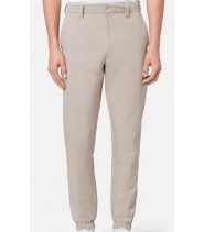 ELASTICATED ANKLE TROUSERS