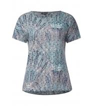 Elin burn out shirt fra Street One - 310503