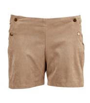 Faux ruskinds shorts fra Saint Tropez - N5916