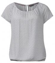 Felia bluse med print fra Street One