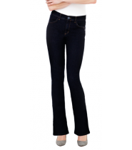 Flair jeans fra Bessie i denim stretch