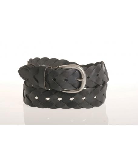 Flet bælte - real leather - 502045