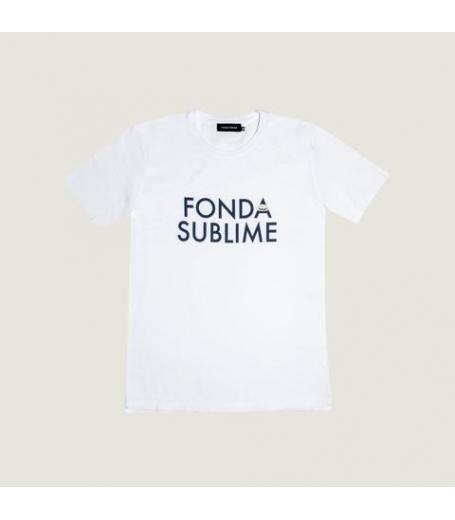 Fonda Sublime Basic FS logo t-shirt hvid