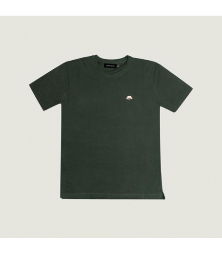 Fonda Sublime Basic patch t-shirt militærgrøn