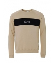 Foret sweatshirt beige