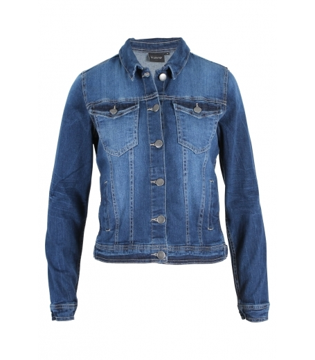 Fully denim jakke fra b.young - 801267
