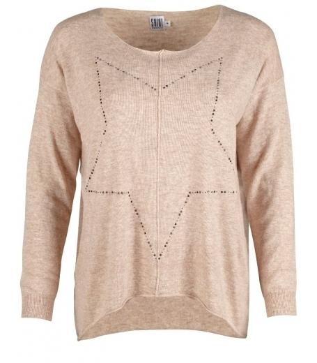 Hot fix star sweater