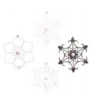 Is blomster, 4 forskellige designs