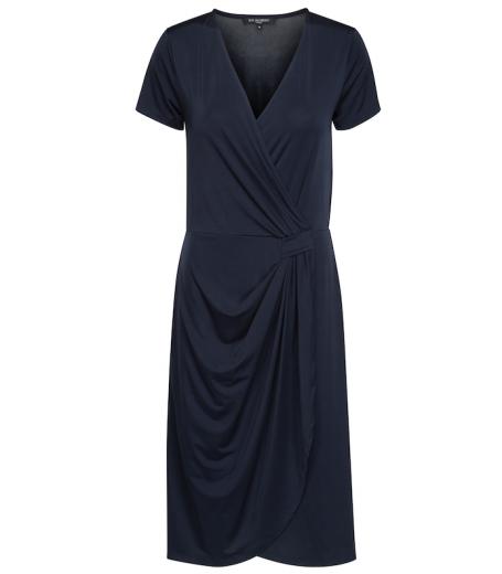 Kjole med draperinger fra Ilse Jacobsen - Emma138