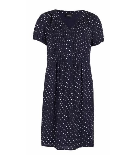 Kjole med prikker fra b.young - 20800063