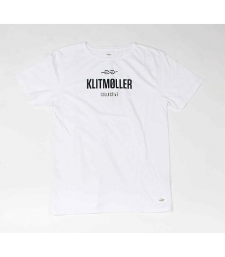 Klitmøller Collective Logo tee White