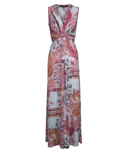 Lang paisley kjole fra Ilse Jacobsen - Nice01CS
