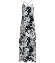 Lang strop kjole