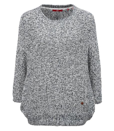 Langærmet pullover fra S.Oliver - 14.601.61.6106