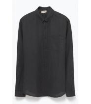 American Vintage LANSDOLE - CARBON skjorte