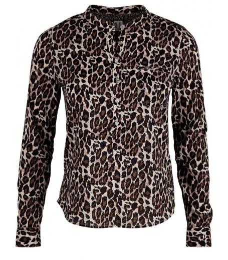leopard skjorte