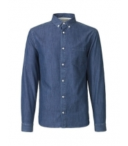 Won Hundred LESTER - DARK DENIM skjorte
