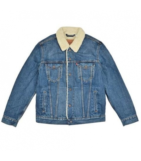 Levi's sherpa trucker - denim