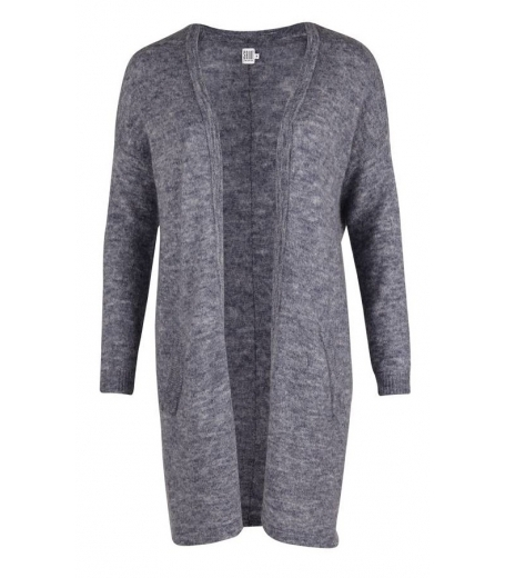 LONG WOOL MIX CARDIGAN - SAINT TROPEZ M2044